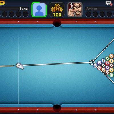 هک بازی 8ball در سایت ثناگیم